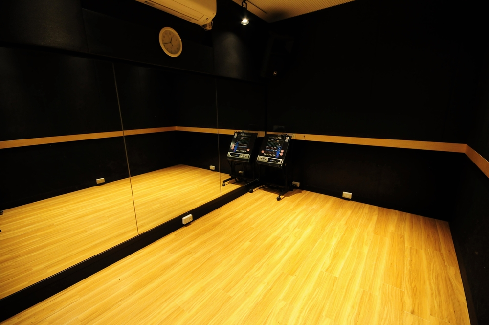 音楽天国・浜松市野店の1studioでダンス練習