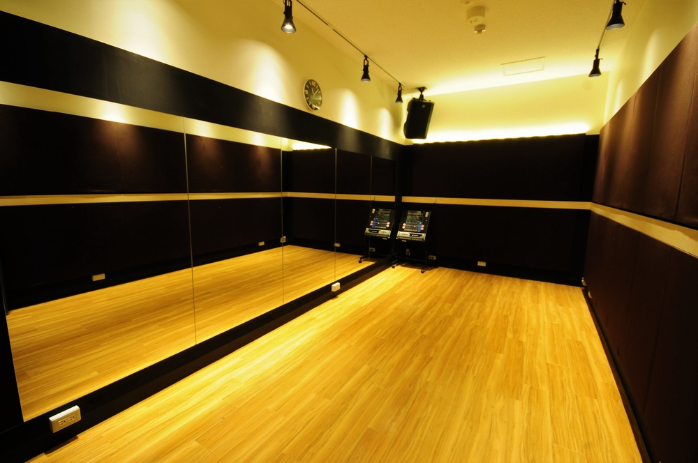 音楽天国・浜松市野店の3studioでダンス練習