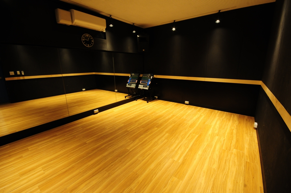 音楽天国・浜松市野店の4studioでダンス練習