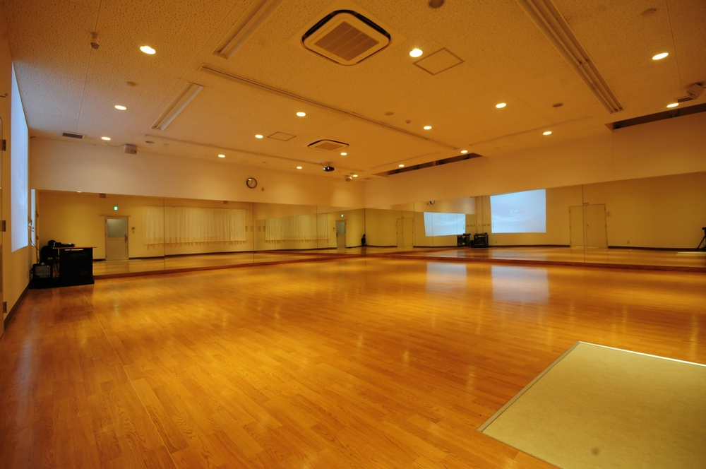 音楽天国・浜松市野店D2studioのダンス専用スタジオ