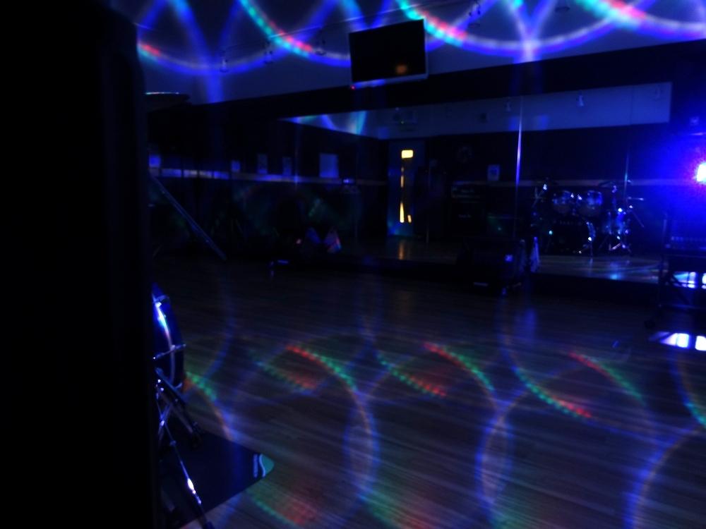 静岡草薙店5studioでエフェクト照明