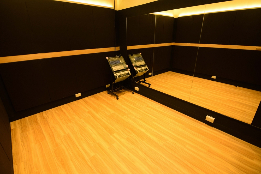 音楽天国・名古屋ささしまライブ店の2studioでダンス練習