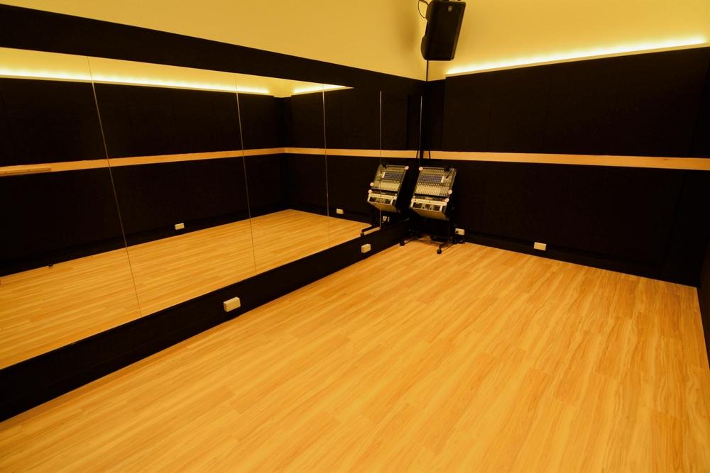 音楽天国・名古屋ささしまライブ店の6studioでダンス練習